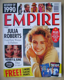 <!--1990-12-->Empire magazine - Julia Roberts cover (December 1990 - Issue