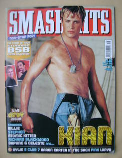 <!--2000-09-20-->Smash Hits magazine - Kian Egan cover (20 September 2000)