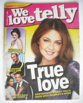 <!--2009-12-05-->We Love Telly magazine - Lacey Turner cover (5-11 December 2009)