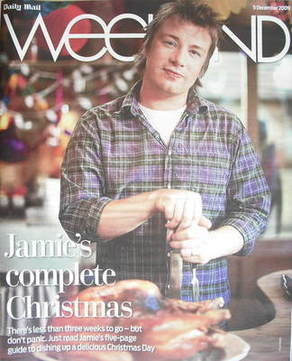 Weekend magazine - Jamie Oliver cover (5 December 2009)
