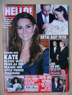 <!--2013-11-11-->Hello! magazine - Kate Middleton cover (11 November 2013 -