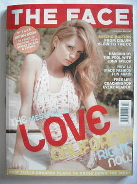 <!--2004-04-->The Face magazine - Mischa Barton cover (April 2004 - Volume