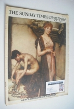 The Sunday Times magazine - The Wide-Screen World of Alma-Tadema cover (18 February 1968)