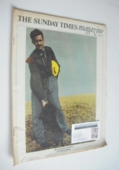 The Sunday Times magazine - The Collected Snapshots of George Orwell cover (18 August 1968)
