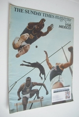 <!--1968-07-28-->The Sunday Times magazine - Viva Mexico cover (28 July 196