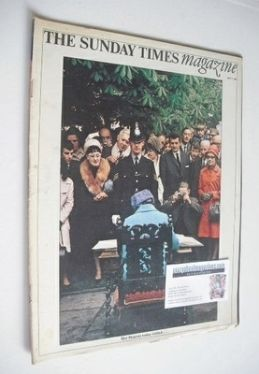 <!--1968-07-07-->The Sunday Times magazine - Queen Elizabeth II cover (7 Ju