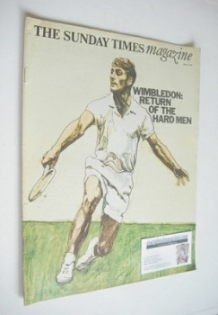 The Sunday Times magazine - Wimbledon, Return Of The Hard Men cover (23 June 1968)