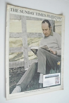 <!--1968-06-09-->The Sunday Times magazine - William David Ormsby Gore cove