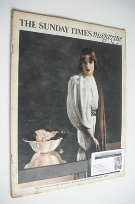 <!--1968-03-17-->The Sunday Times magazine - Eurofashion cover (17 March 19