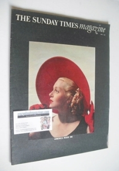 The Sunday Times magazine - Lana Turner cover (7 April 1968)