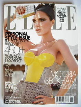 <!--2009-10-->US Elle magazine - October 2009 - Victoria Beckham cover