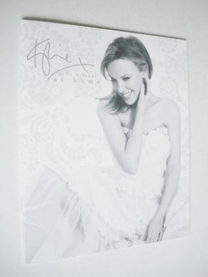 At Home bed linen brochure - Kylie Minogue (2012)