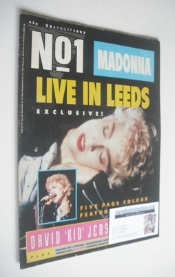 <!--1987-08-22-->No 1 magazine - Madonna cover (22 August 1987)