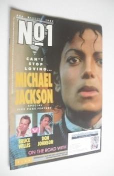 No 1 Magazine - Michael Jackson cover (8 August 1987)