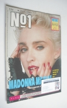 No 1 Magazine - Madonna cover (18 July 1987)