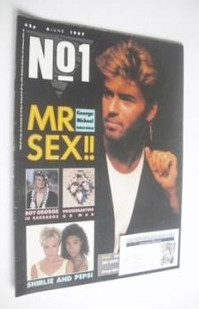 No 1 Magazine - George Michael cover (6 June 1987)