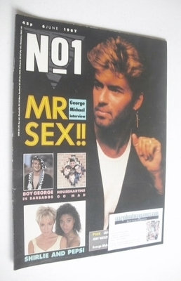 <!--1987-06-06-->No 1 Magazine - George Michael cover (6 June 1987)