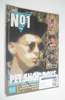 No 1 Magazine - Pet Shop Boys cover (17 January 1987)