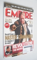<!--2003-12-->Empire magazine - Russell Crowe cover (December 2003 - Issue 174)
