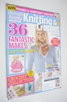 Woman's Weekly Knitting and Crochet Special magazine (July 2013)