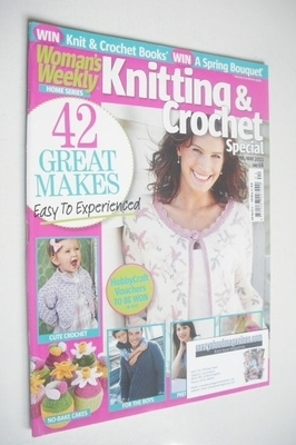 <!--2011-04-->Woman's Weekly magazine - Knitting and Crochet Special (April
