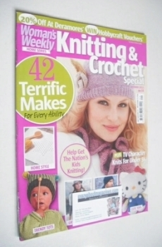 Woman's Weekly Knitting and Crochet Special magazine (October 2011)