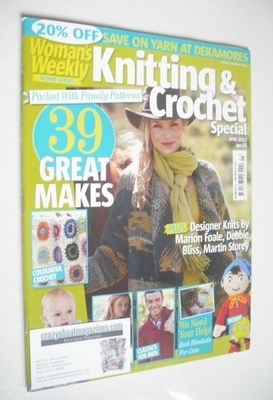 <!--2012-04-->Woman's Weekly magazine - Knitting and Crochet Special (April