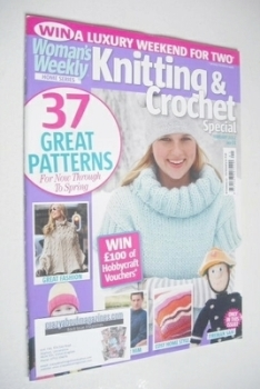 Woman's Weekly Knitting and Crochet Special magazine (February 2012)