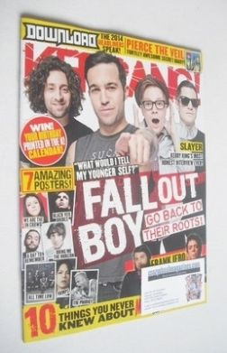 <!--2013-11-09-->Kerrang magazine - Fall Out Boy cover (9 November 2013 - I