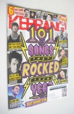 <!--2013-11-23-->Kerrang magazine - 101 Songs That Rocked Your Year cover (