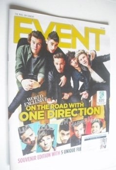 Event magazine - One Direction cover (24 November 2013)