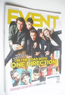 <!--2013-11-24-->Event magazine - One Direction cover (24 November 2013)