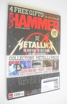 Metal Hammer magazine - Metallica cover (October 2013)