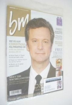 BM magazine - Colin Firth cover (Winter 2013)