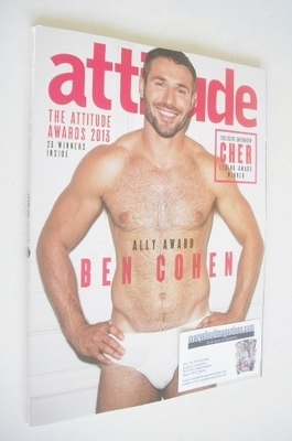 <!--2013-11-->Attitude magazine - Ben Cohen cover (November 2013)
