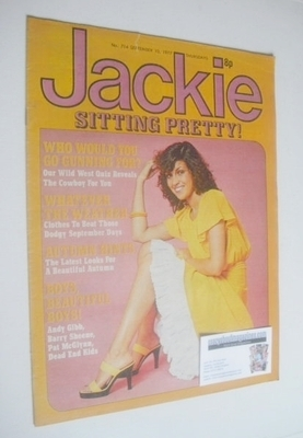 <!--1977-09-10-->Jackie magazine - 10 September 1977 (Issue 714)