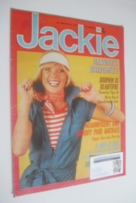 <!--1977-05-21-->Jackie magazine - 21 May 1977 (Issue 698)