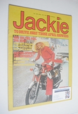 <!--1975-04-19-->Jackie magazine - 19 April 1975 (Issue 589)