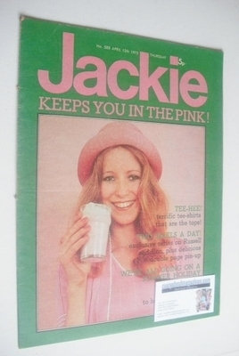 <!--1975-04-12-->Jackie magazine - 12 April 1975 (Issue 588)