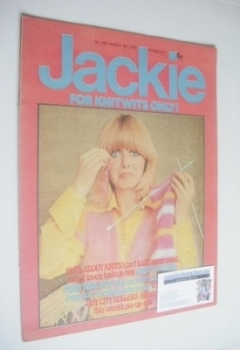Jackie magazine - 8 March 1975 (Issue 583)