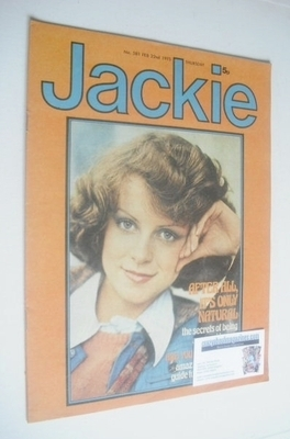 <!--1975-02-22-->Jackie magazine - 22 February 1975 (Issue 581)