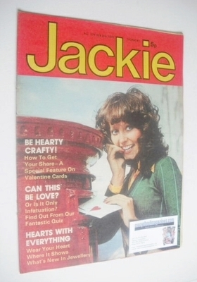 <!--1975-02-08-->Jackie magazine - 8 February 1975 (Issue 579)