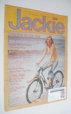 <!--1977-08-06-->Jackie magazine - 6 August 1977 (Issue 709)
