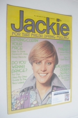 <!--1976-03-27-->Jackie magazine - 27 March 1976 (Issue 638)