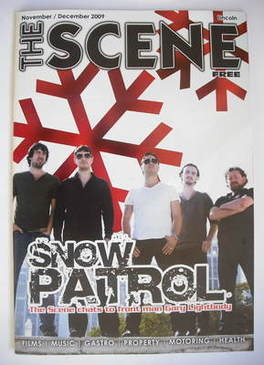 The Scene supplement - Snow Patrol cover (November/December 2009)