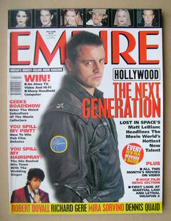 <!--1998-07-->Empire magazine - Matt LeBlanc cover (July 1998 - Issue 109)