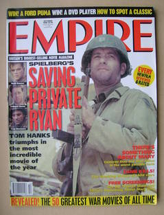 <!--1998-10-->Empire magazine - Tom Hanks cover (October 1998 - Issue 112)