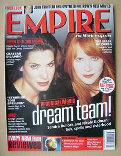 <!--1999-01-->Empire magazine - Sandra Bullock and Nicole Kidman cover (Jan