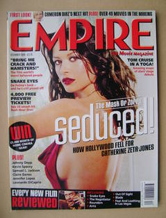 <!--1998-12-->Empire magazine - Catherine Zeta-Jones cover (December 1998 -