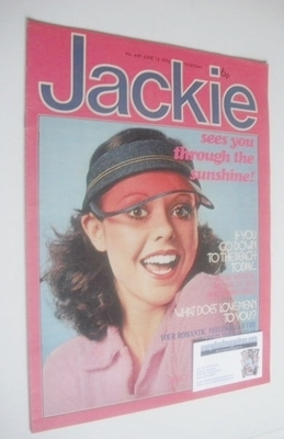 <!--1976-06-12-->Jackie magazine - 12 June 1976 (Issue 649)